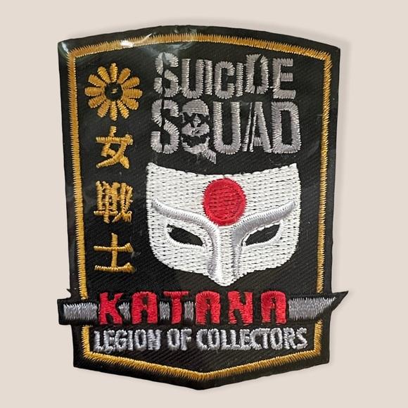 Funko DC Comics Suicide Squad Katana Patch